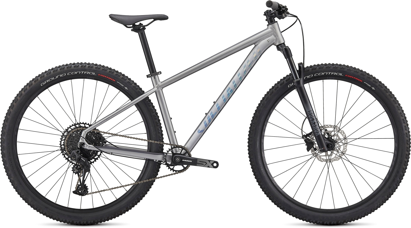 Specialized Rockhopper Expert 29 - Satin Silver Dust/Black Holographic XL
