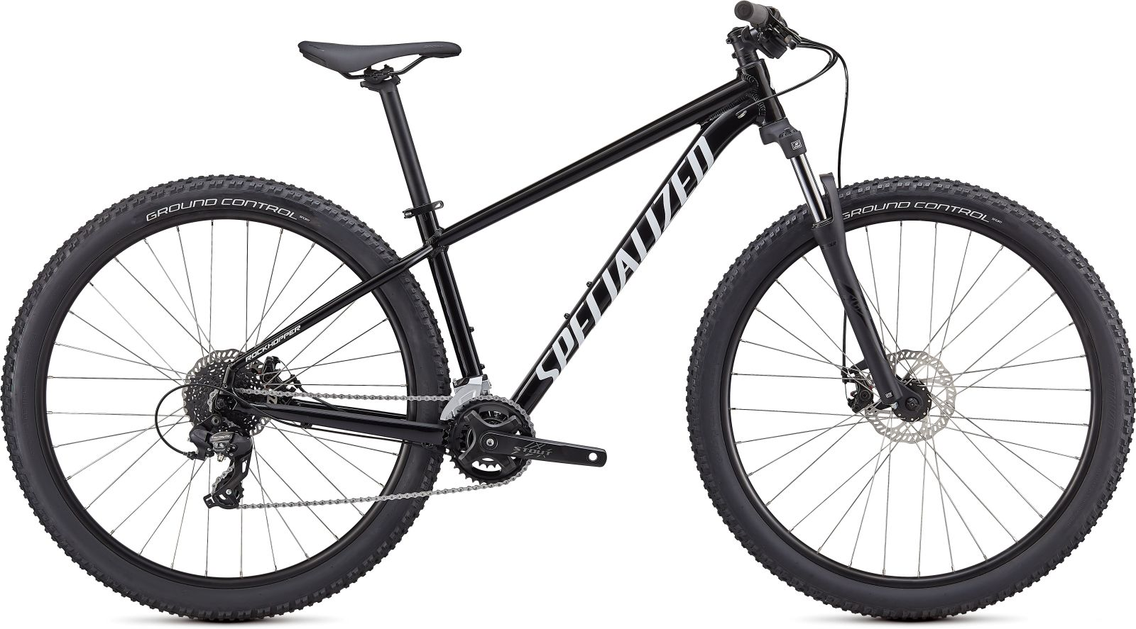 Specialized Rockhopper 29 - Gloss Tarmac Black/White XL