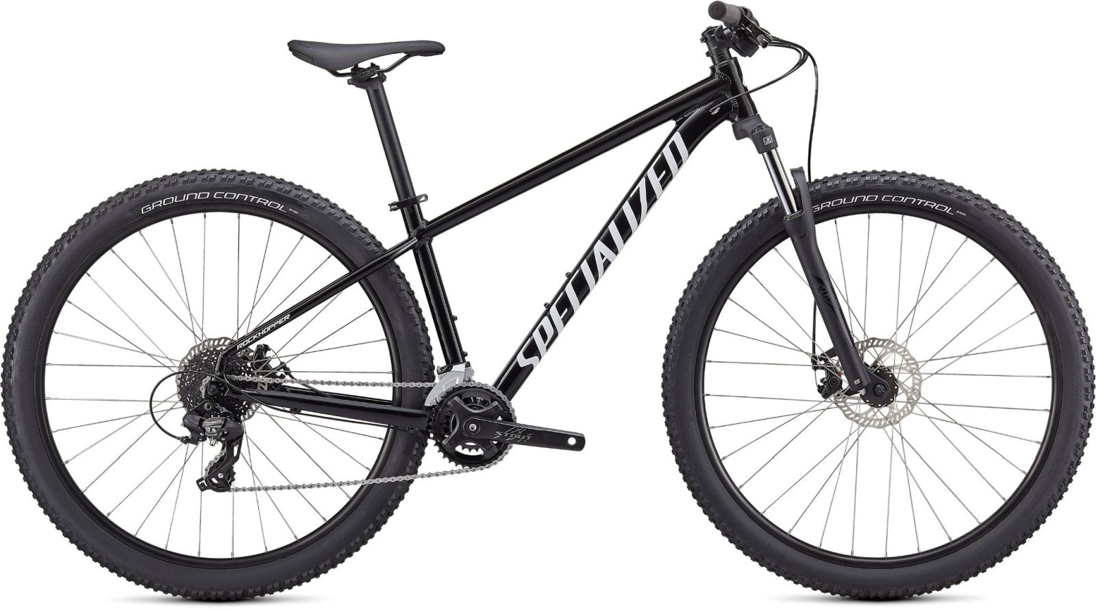 Specialized Rockhopper 26 - Gloss Tarmac Black/White XXS