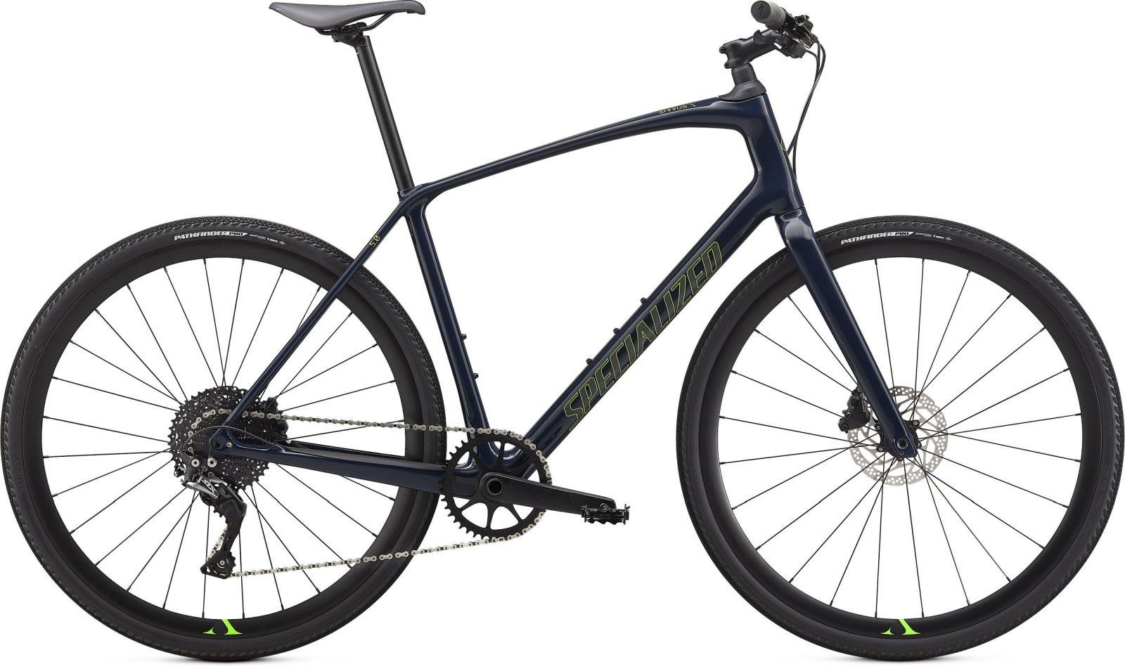 Specialized Sirrus X 5.0 - cast blue/hyper/satin black reflective XS