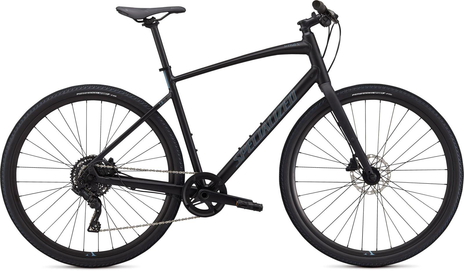 Specialized Sirrus X 3.0 - black/storm grey/satin black reflective XS