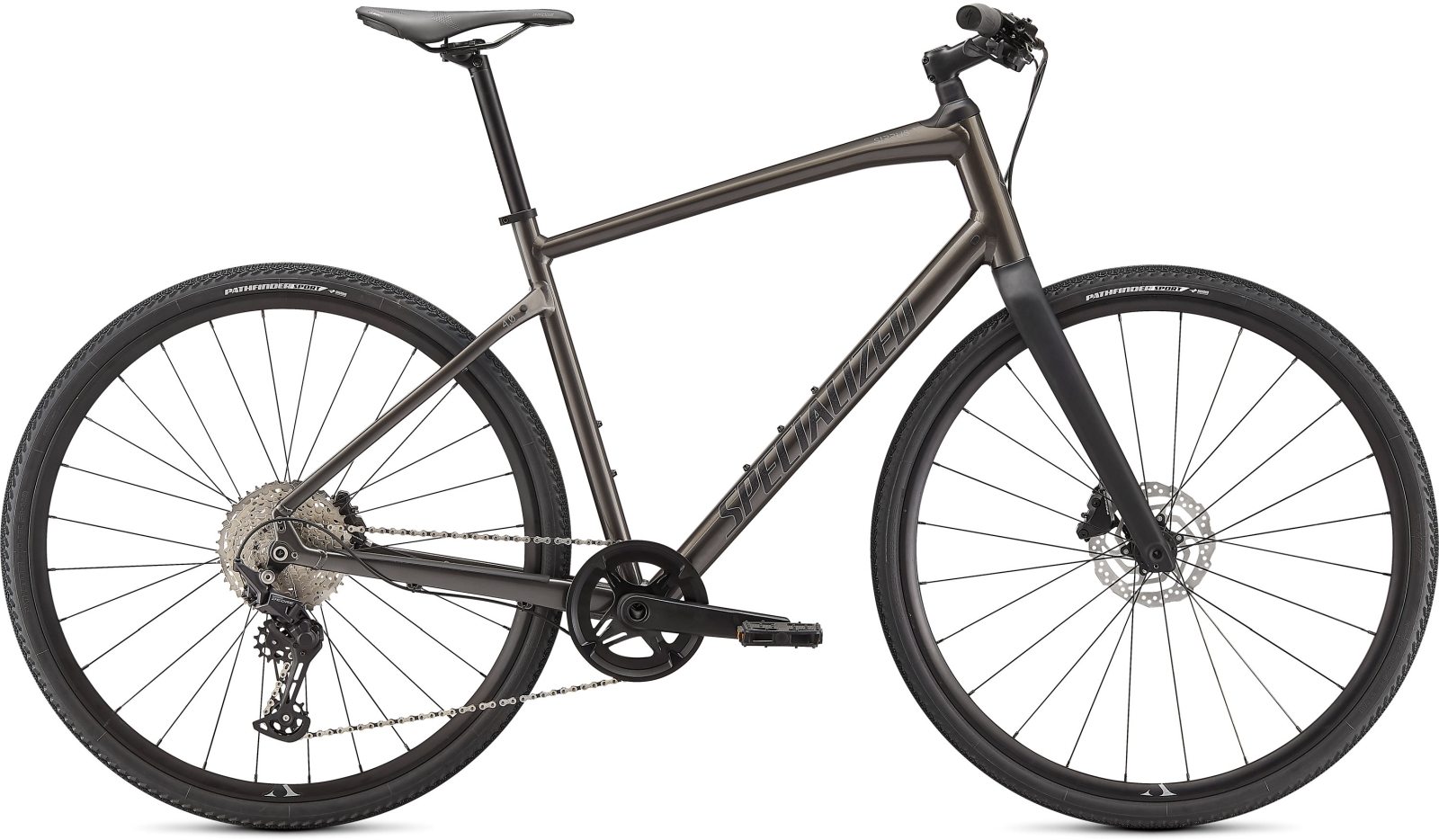 Specialized Sirrus X 4.0 - Smoke/Cool Grey/Black M