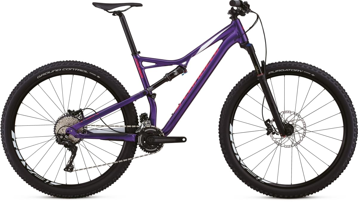 Specialized Camber FSR Comp 29 - 2x - purple/white/acid pink M
