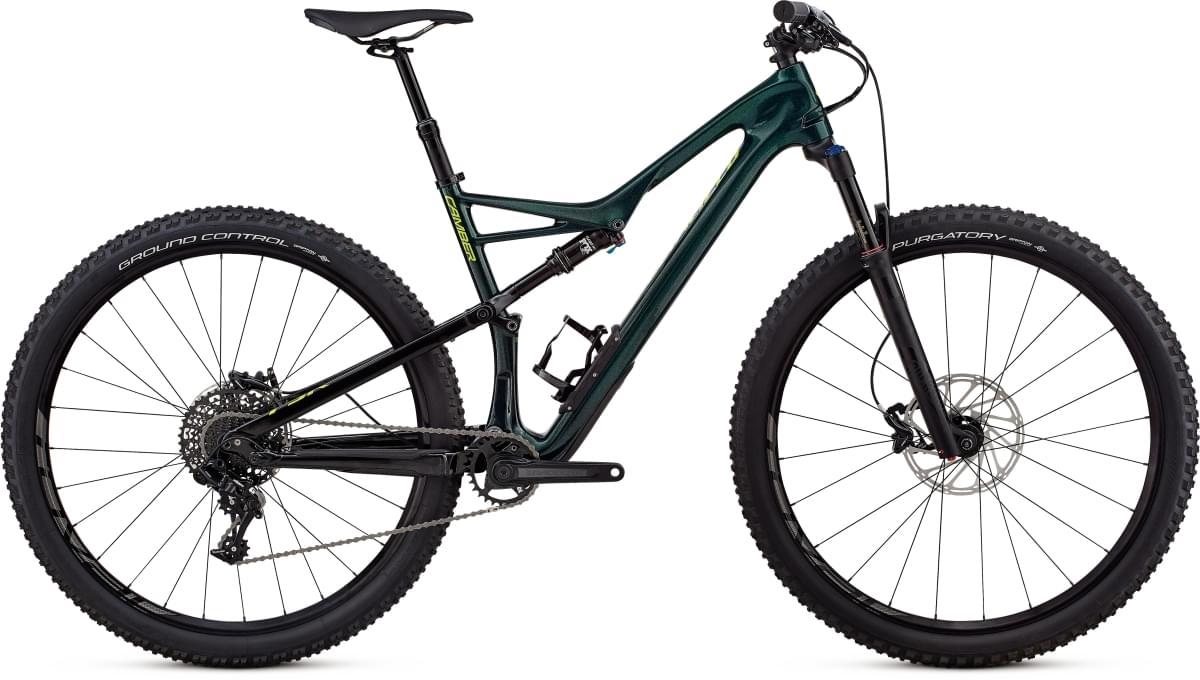 Specialized Camber FSR Comp Carbon 29 - 1x - cav green/hyper green M