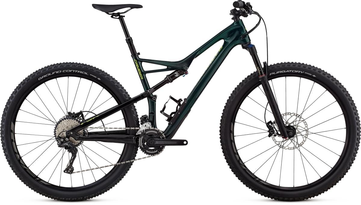 Specialized Camber FSR Comp Carbon 29 - 2x - cav green/hyper green M