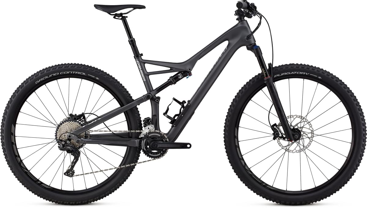 Specialized Camber FSR Comp Carbon 29 - 2x - graphite/flake silver M