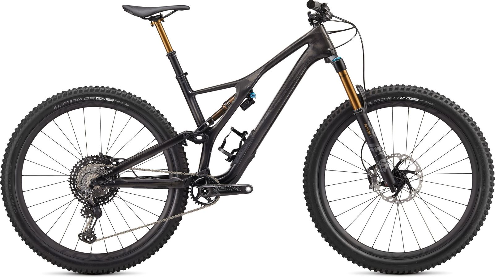 Specialized S-Works Stumpjumper FSR Men's Carbon 29 - carbon/black chrome S