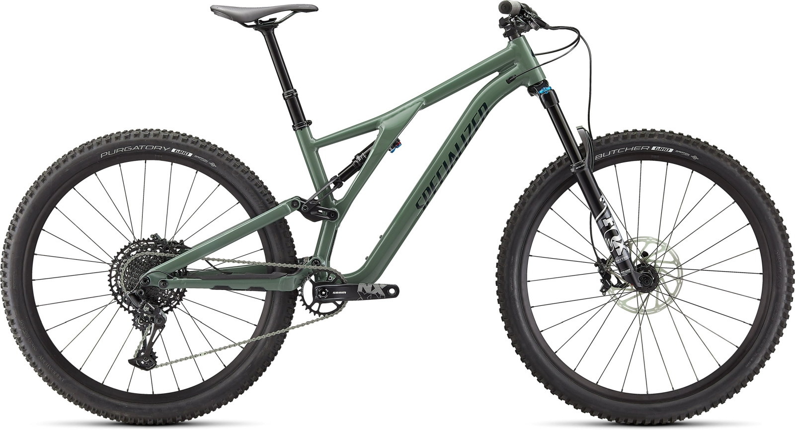 Specialized Stumpjumper Comp Alloy - sage green/forest green S1