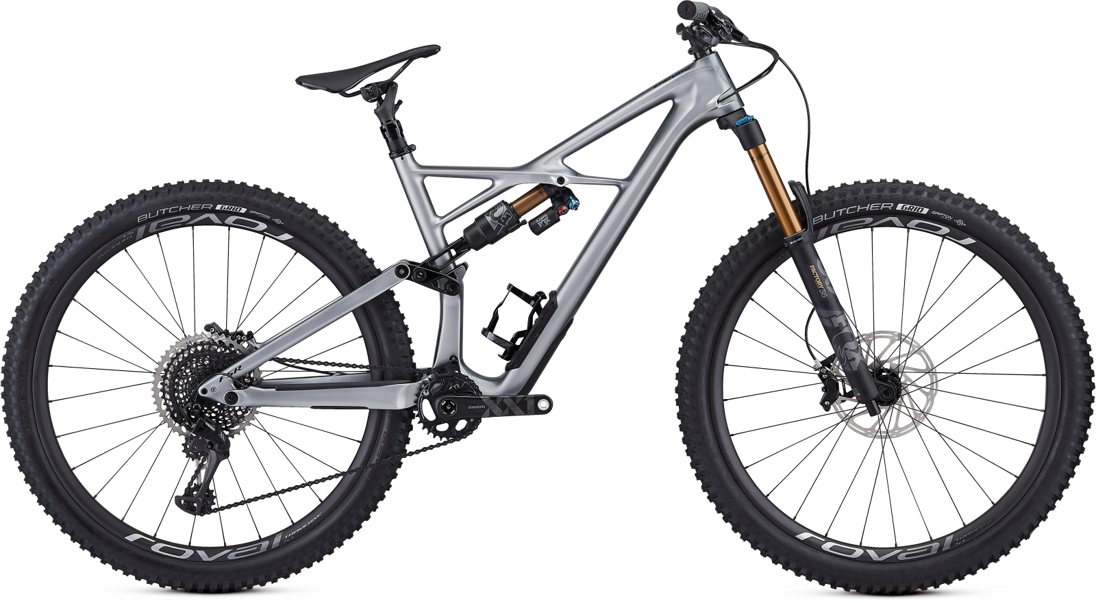 Specialized S-Works Enduro FSR Carbon 29/6Fattie - flake silver/tarmac black M