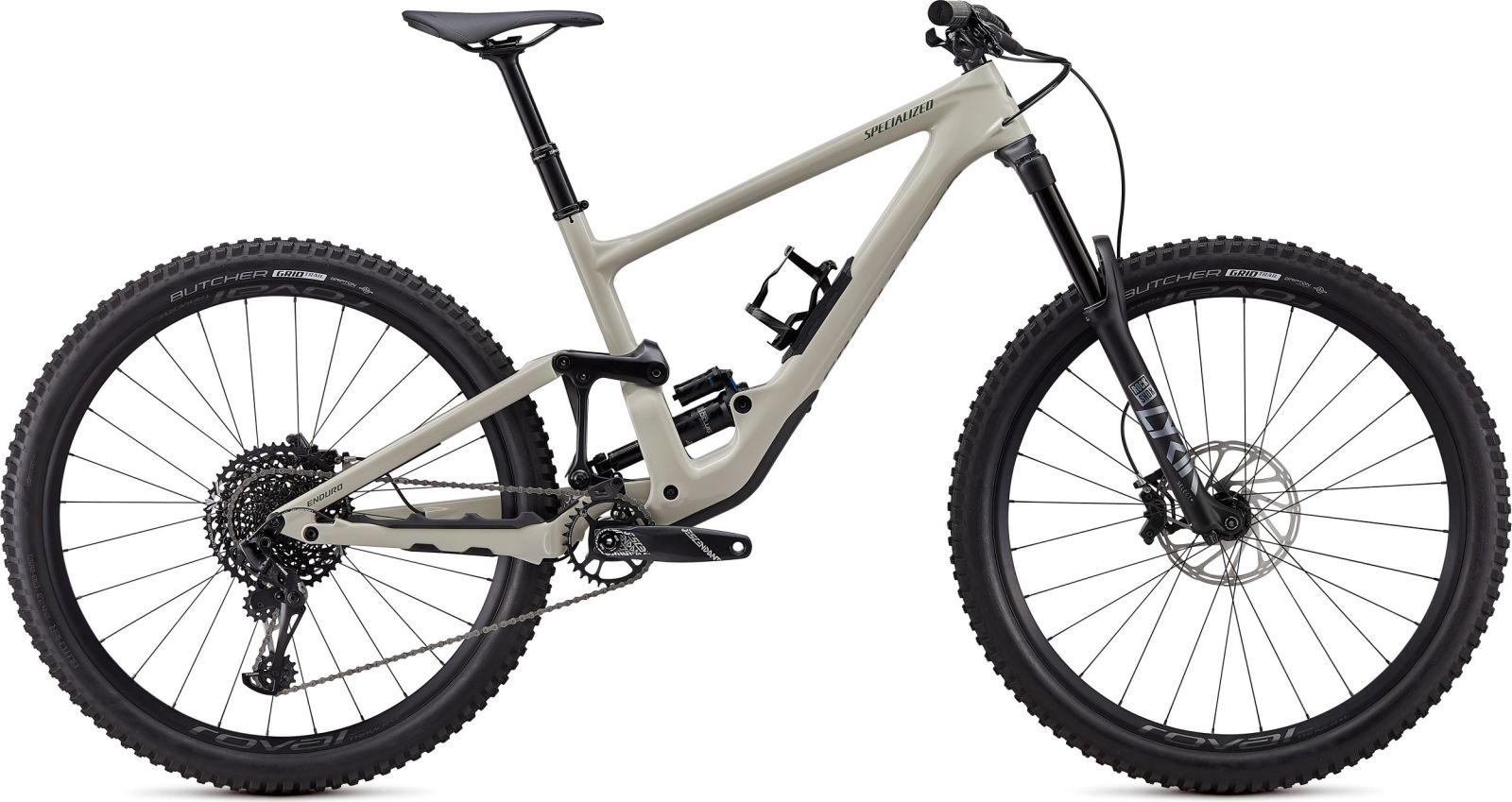Specialized Enduro Elite Carbon 29 - gloss white mountains / satin carbon / sage S5