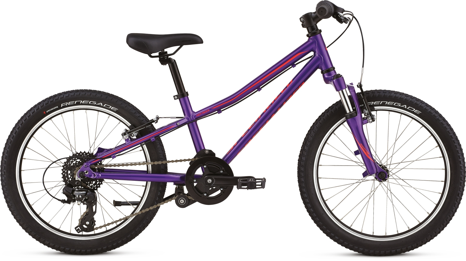 Specialized Hotrock 20 - purple/black/acid red uni