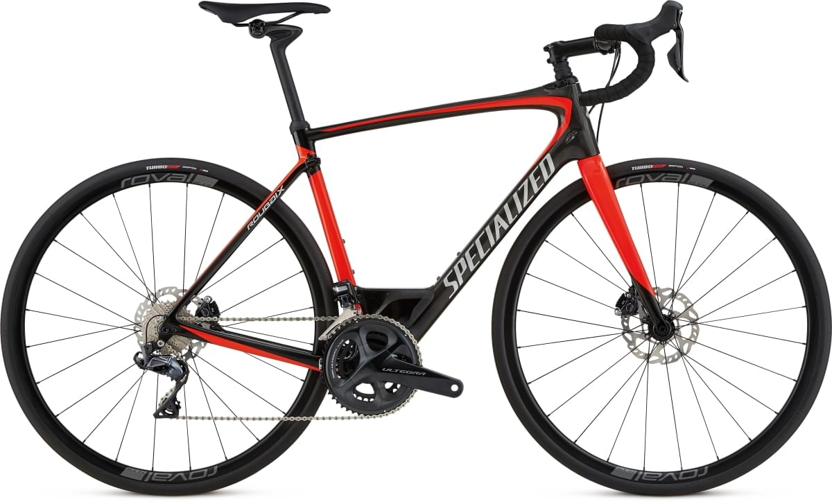 Specialized Roubaix Expert Udi2 8070 - carbon/rocket red/kool silver 54