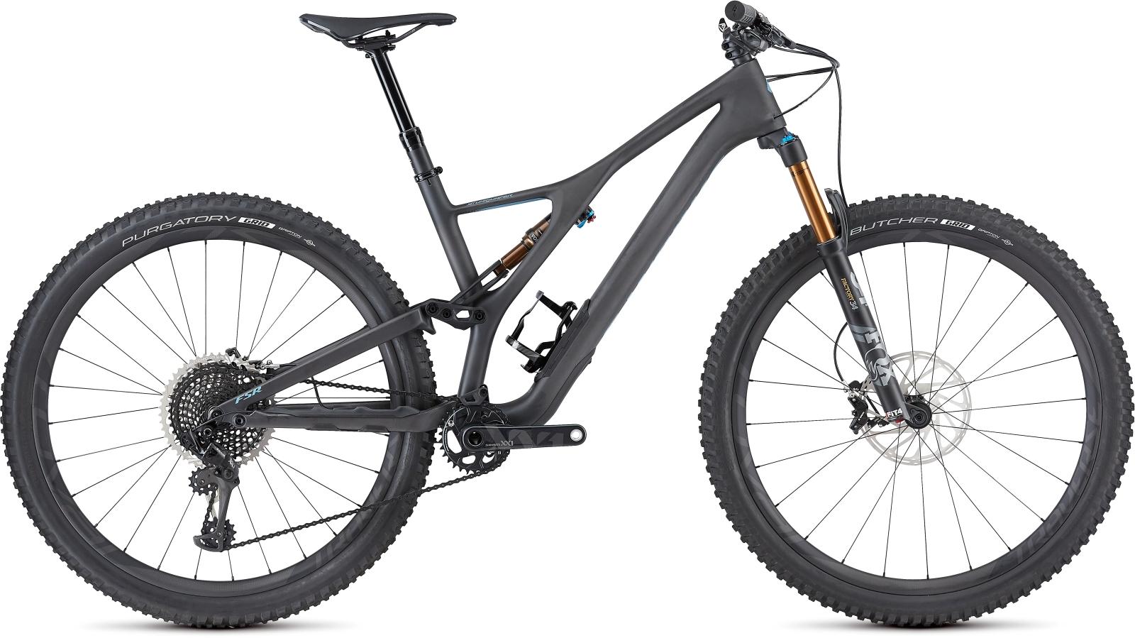 Specialized Men's S-Works Stumpjumper ST Carbon 29 - carbon/storm grey XL