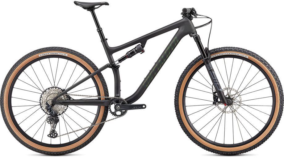 Specialized Epic Evo Comp - satin carbon/oak green metallic M