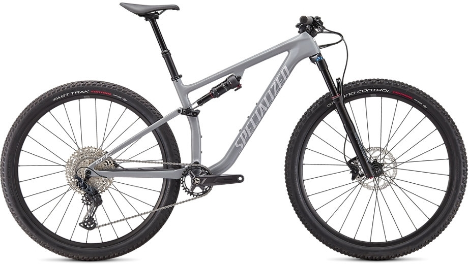 Specialized Epic Evo Base - gloss cool grey / dove grey S