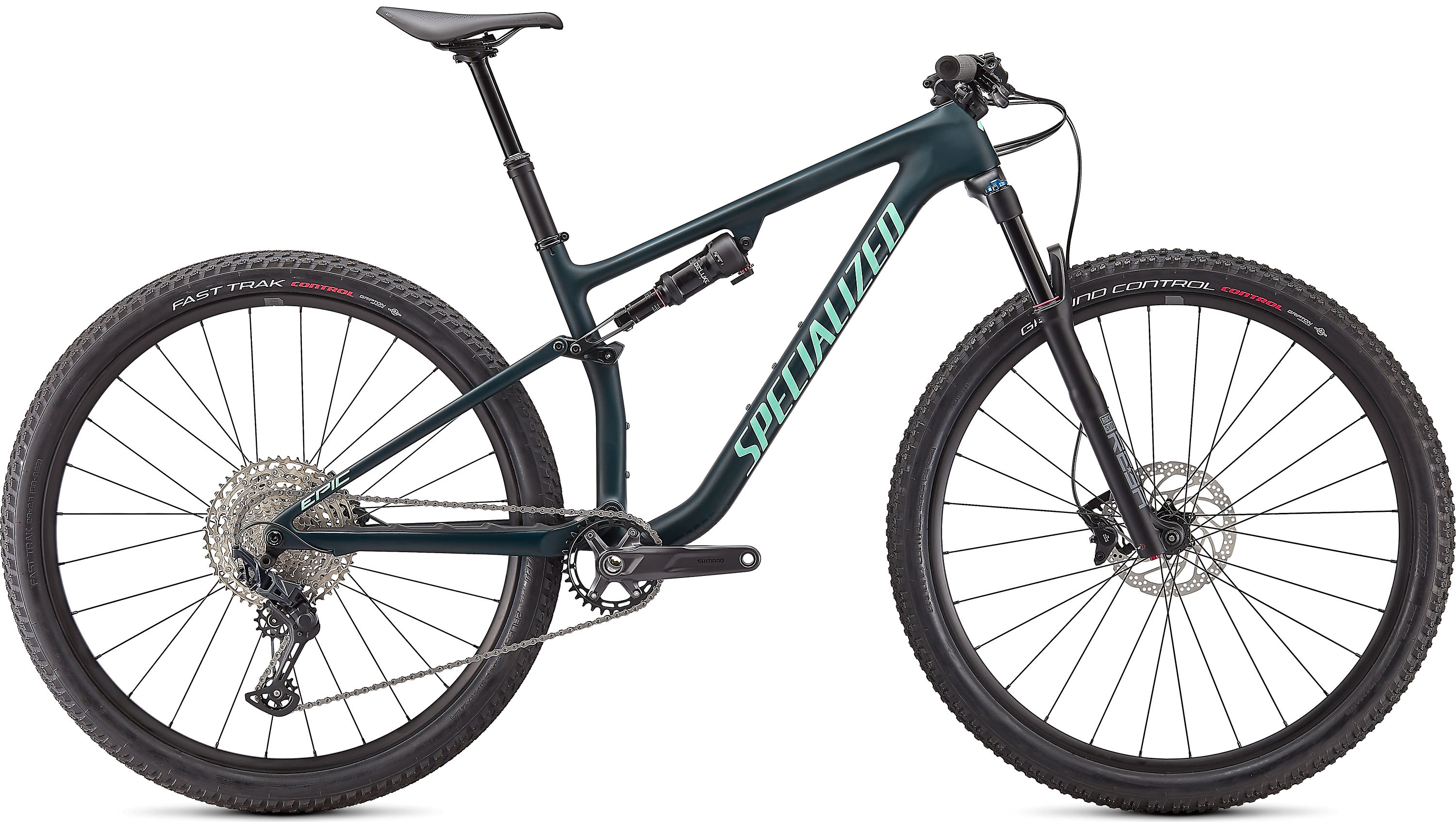 Specialized Epic Evo Base - satin forest green / oasis M