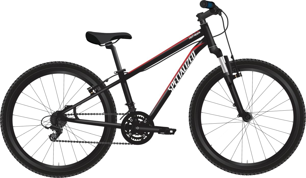 Specialized Hotrock 24 XC - black/red/white uni
