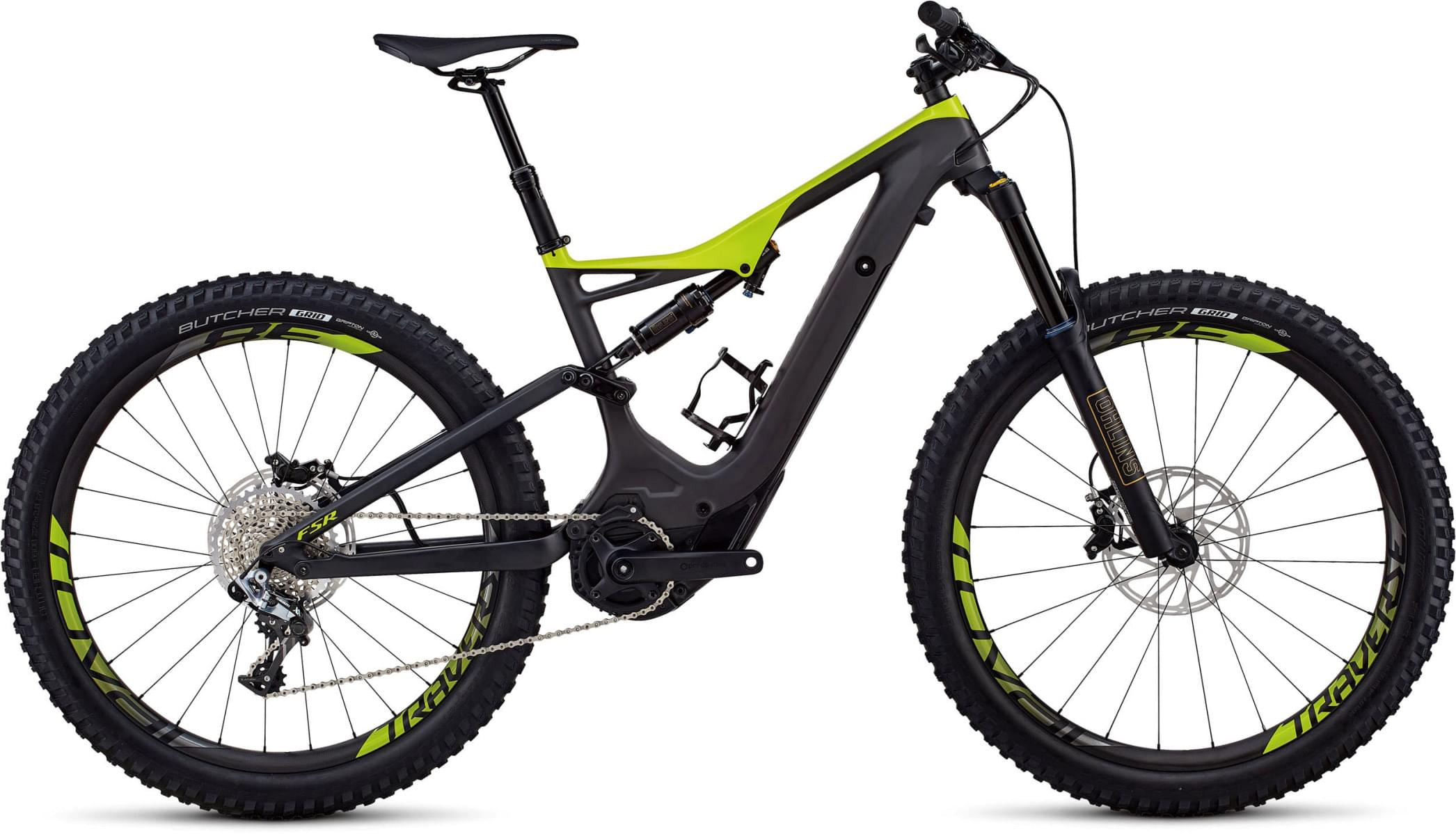 Specialized S-Works Turbo Levo FSR 6Fattie/29 - NB - carbon/hyper green M