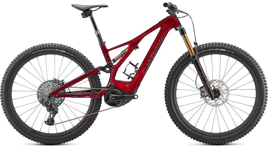Specialized S-Works Turbo Levo - Red Tint / Satin Black XL