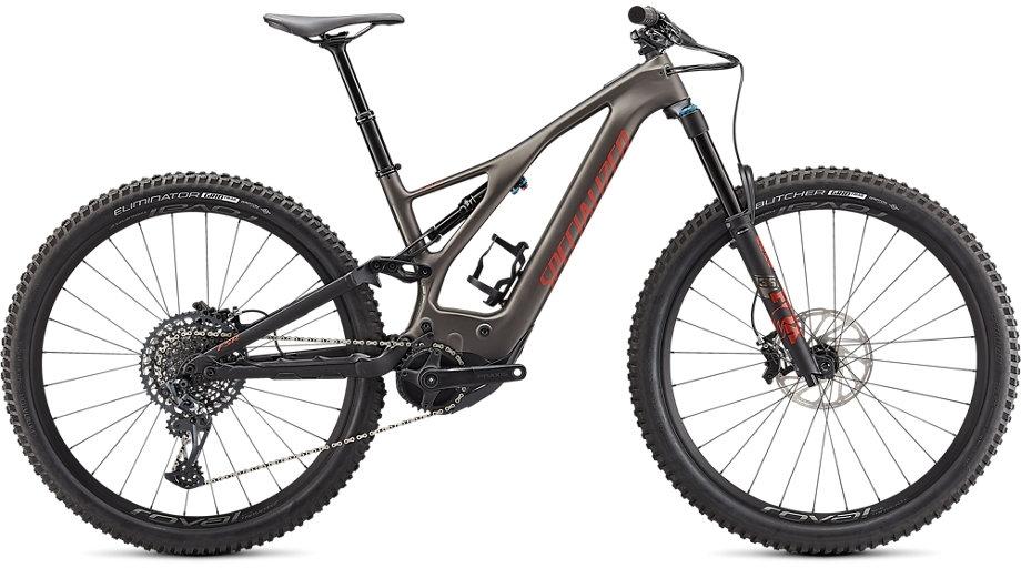 Specialized Turbo Levo Expert Carbon - Gunmetal / Redwood / Black M