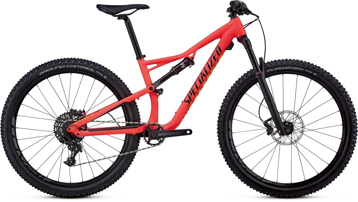 Specialized Women's Camber FSR Comp 27,5 - acid red/limon/black XS