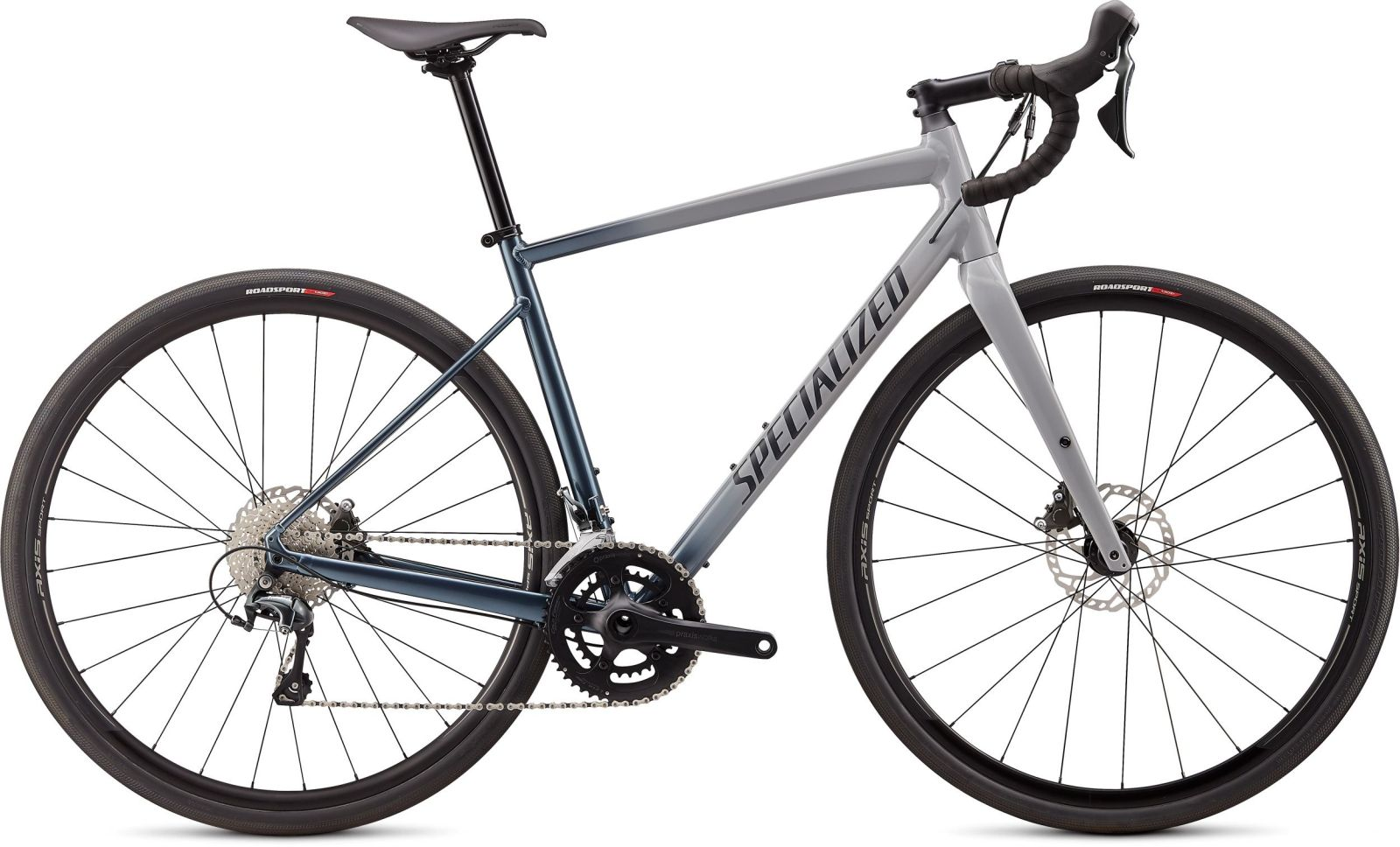 Specialized Diverge E5 Elite - gloss/satin cool grey-cast battleship fade/slate clean 56