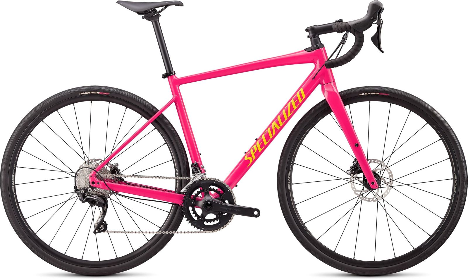 Specialized Diverge E5 Comp - gloss vivid pink/golden yellow/black camo 58