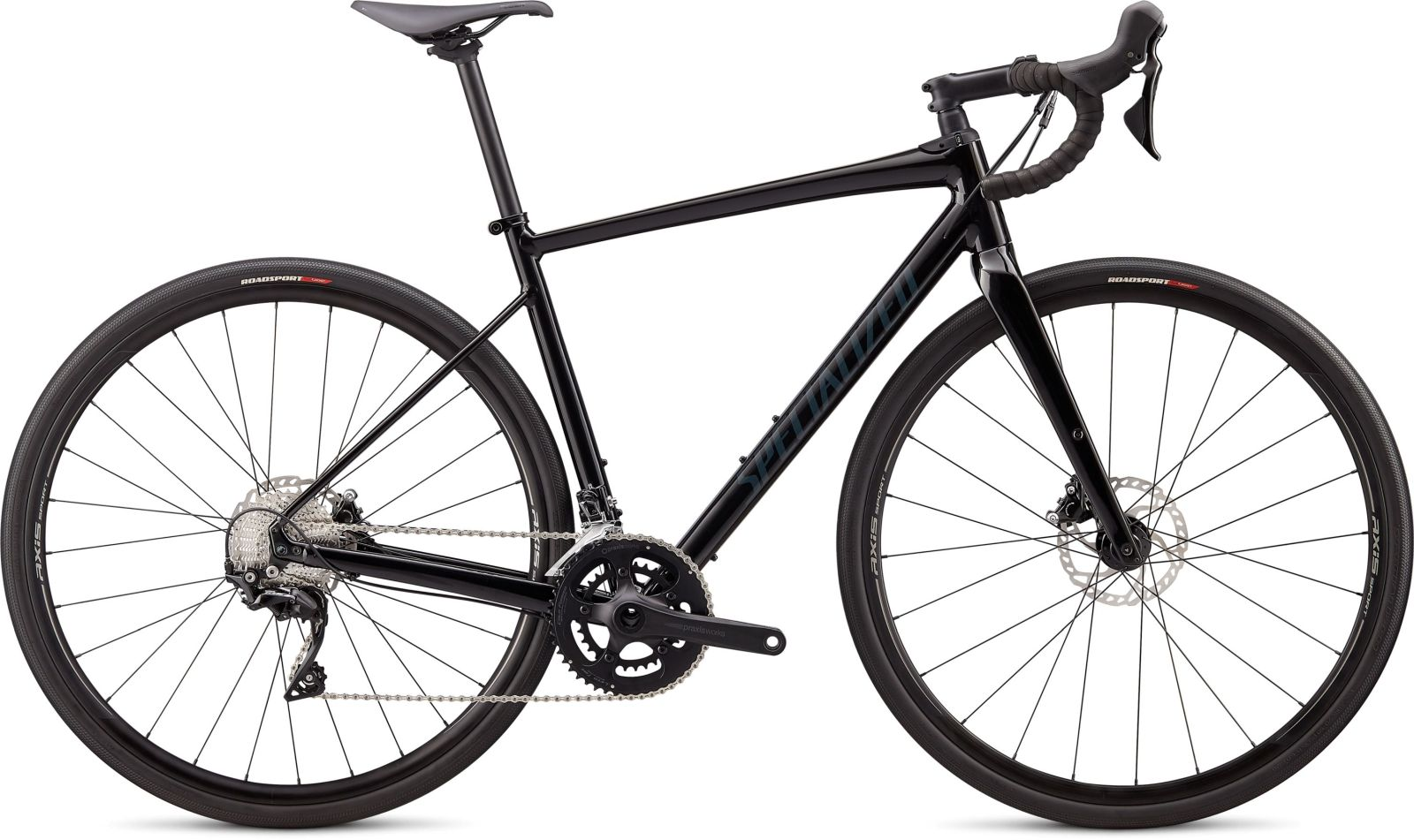 Specialized Diverge E5 Comp - gloss black/carbon grey clean 52
