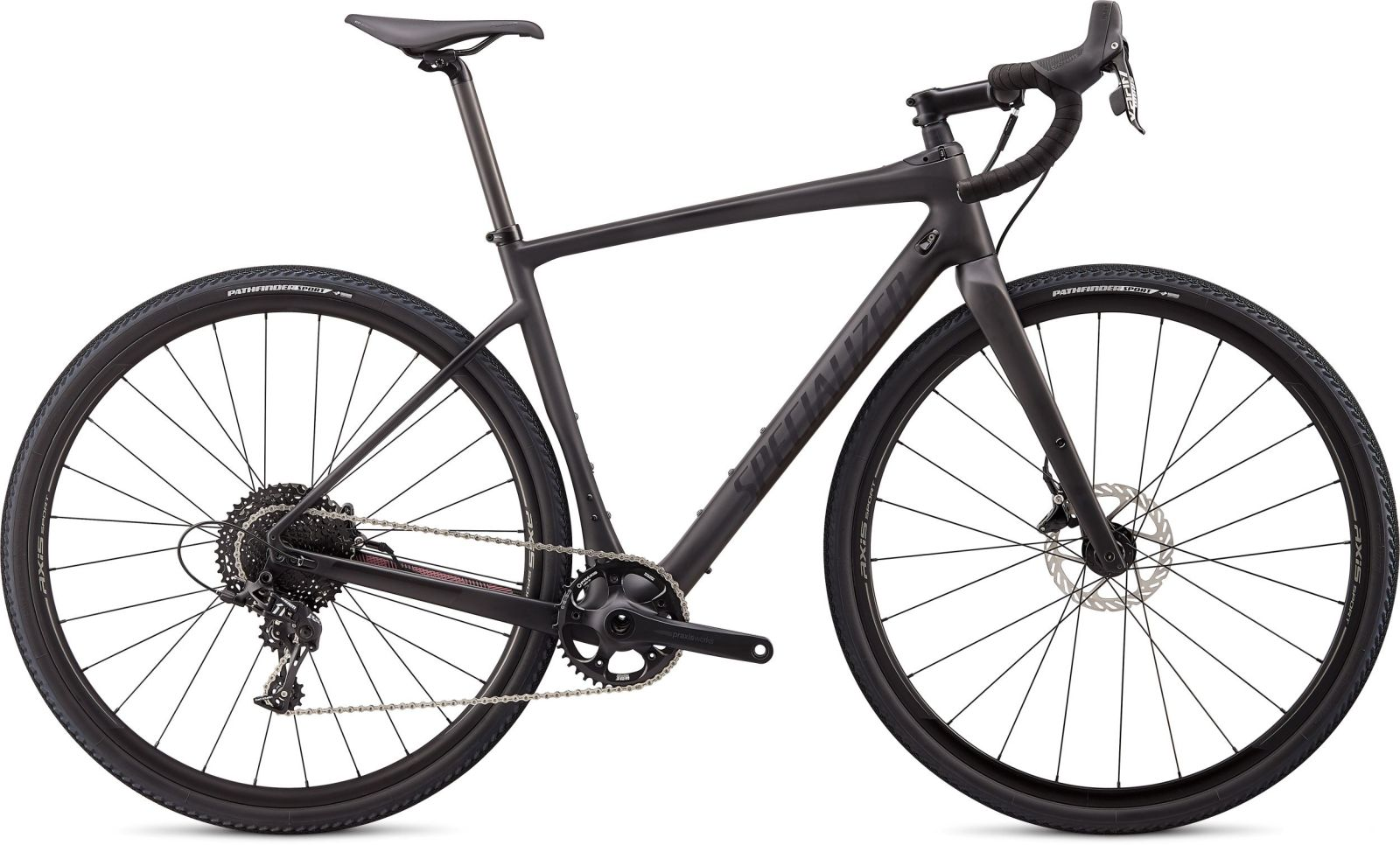 Specialized Diverge X1 Carbon - satin carbon/black reflective/dusty lilac camo 56