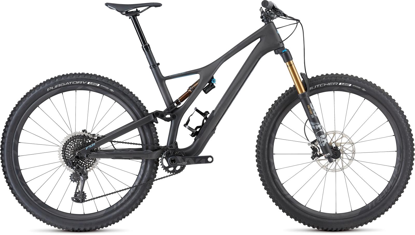 Specialized Men's S-Works Stumpjumper Carbon 29 - carbon/storm grey XL