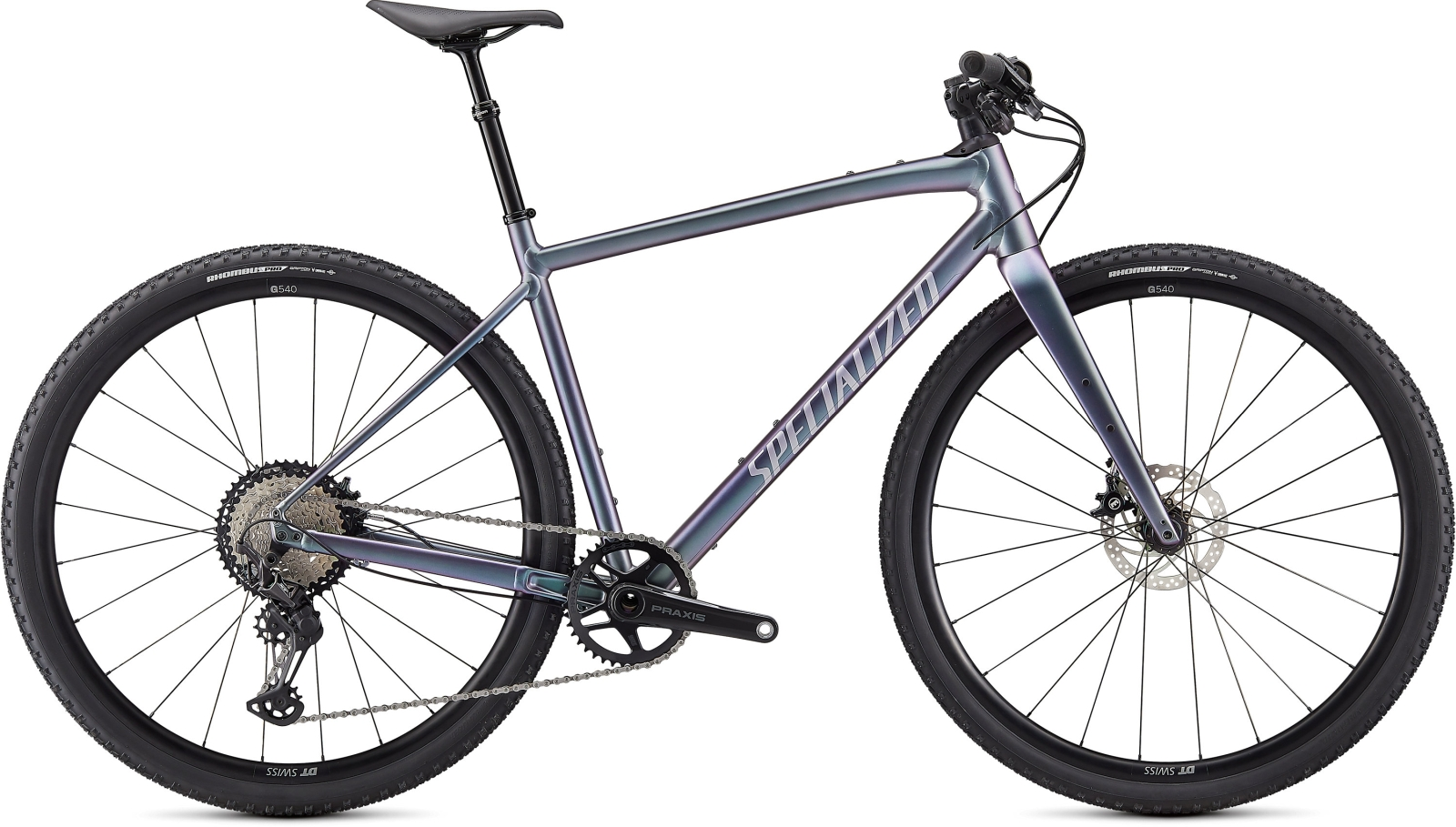 Specialized Diverge E5 Expert Evo -Gloss/Brushed/Chrome/Clean L