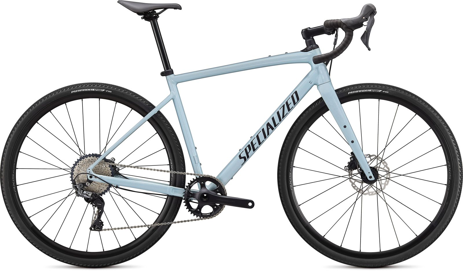 Specialized Diverge E5 Comp -Gloss Ice Blue/Smoke/Chrome/Clean 54