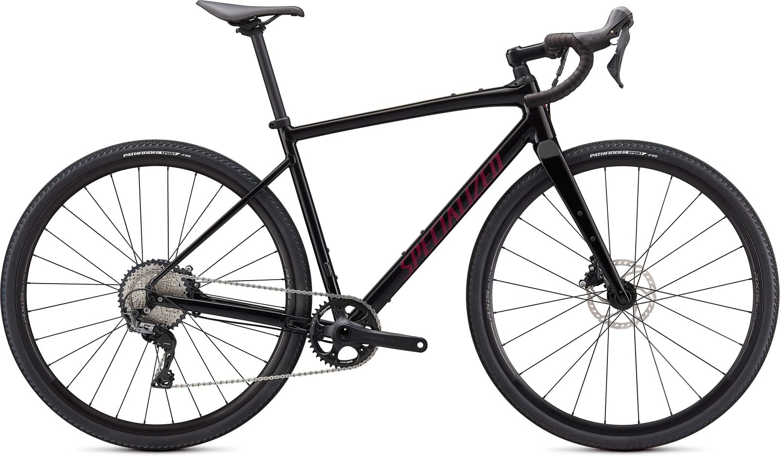 Specialized Diverge E5 Comp -Gloss Tarmac Black/Satin Maroon/Chrome/Clean 54