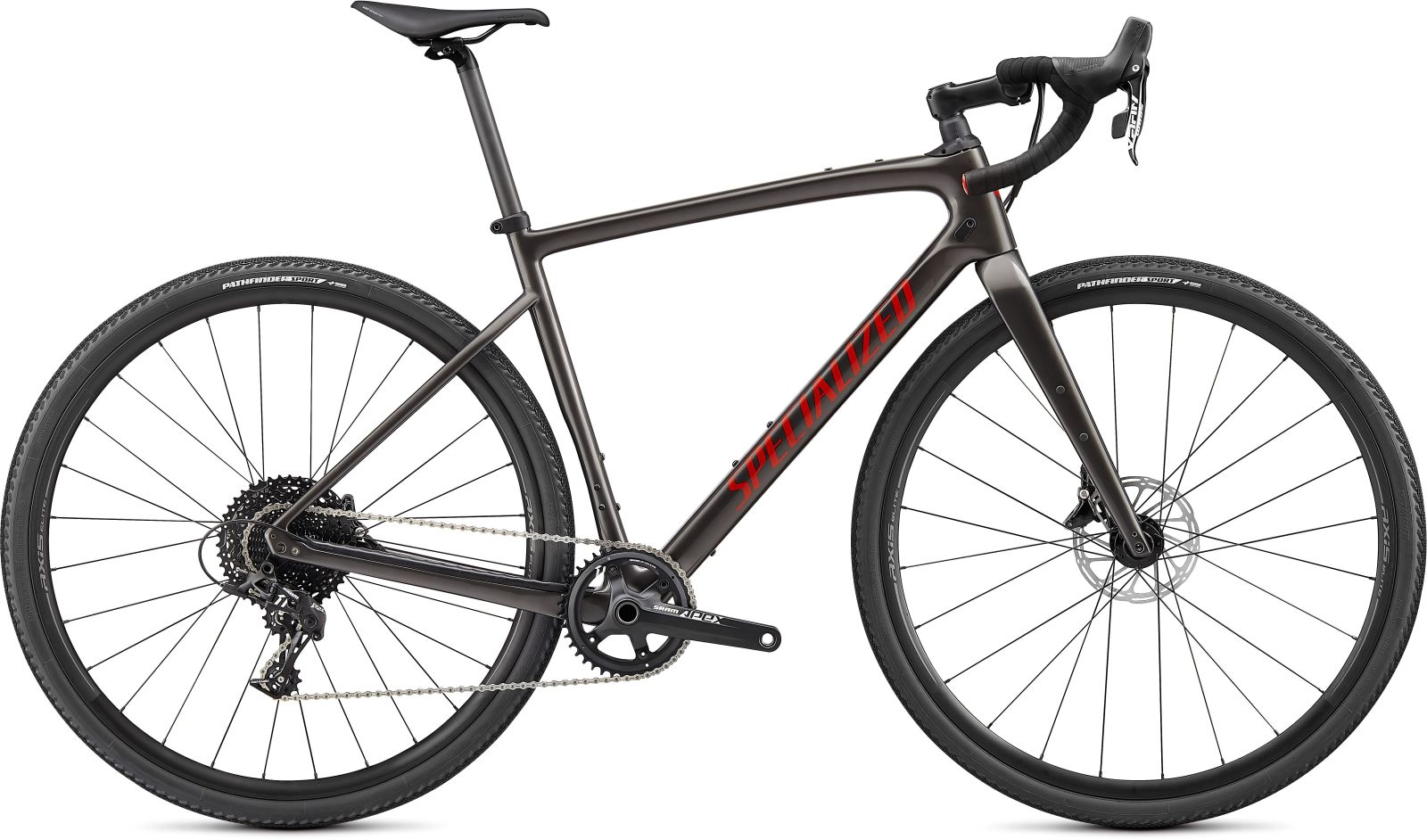 Specialized Diverge Carbon -Gloss Smoke/Redwood/Chrome/Clean 52