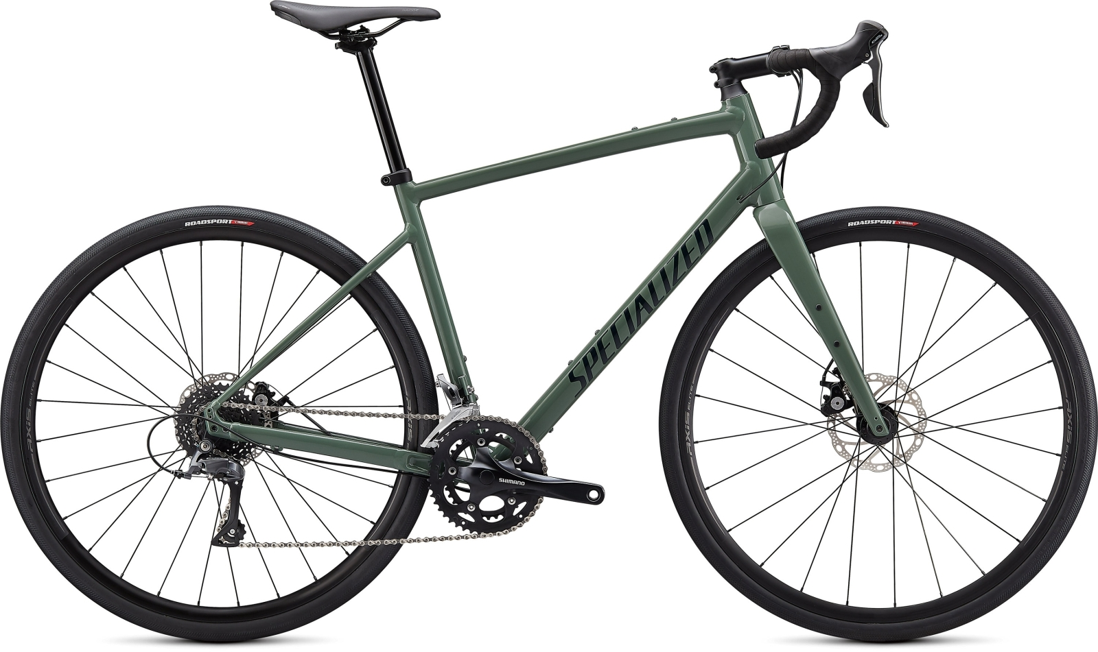 Specialized Diverge E5 - Sage Green/Forest Green/Chrome 52