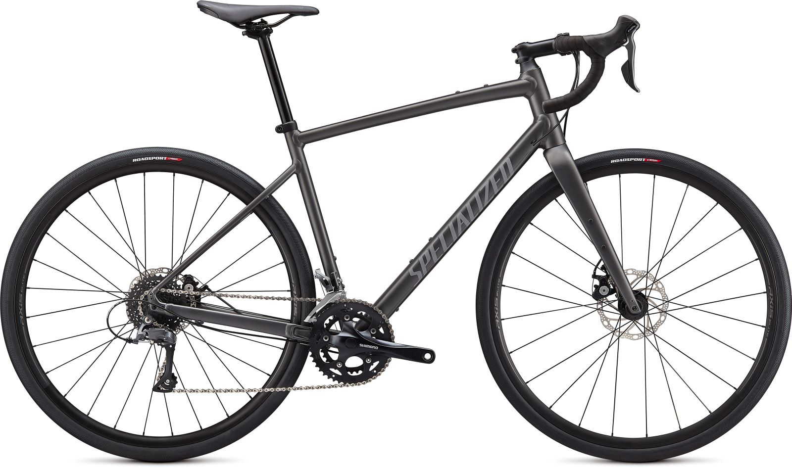 Specialized Diverge E5 -Satin Smoke/Cool Grey/Chrome/Clean 56