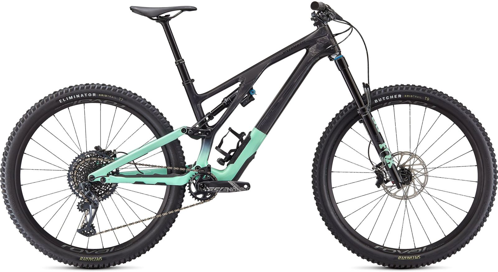 Specialized Stumpjumper EVO Expert - gloss carbon/oasis/black S2