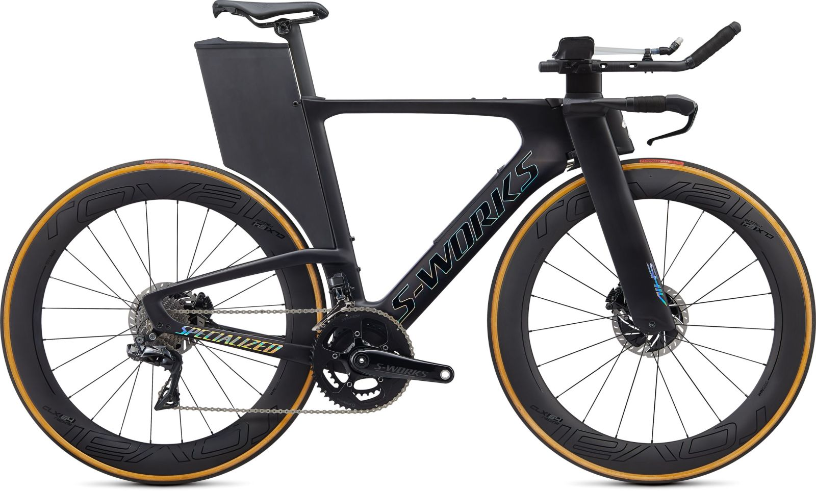 Specialized S-Works Shiv Disc Di2 - satin carbon/gloss holographic foil XS