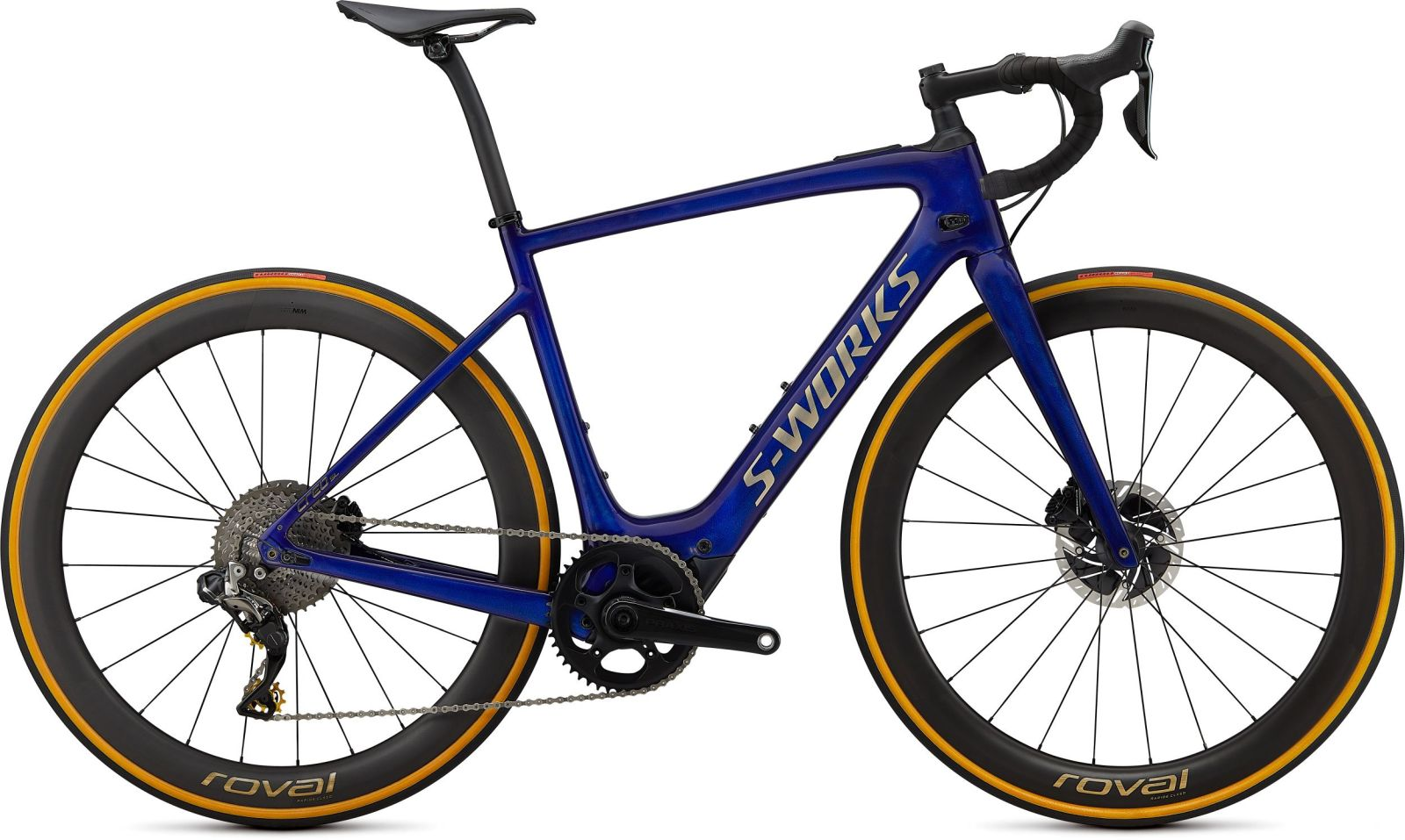 Specialized S-Works Creo SL Founders Edition - spectral blue brushed gold S
