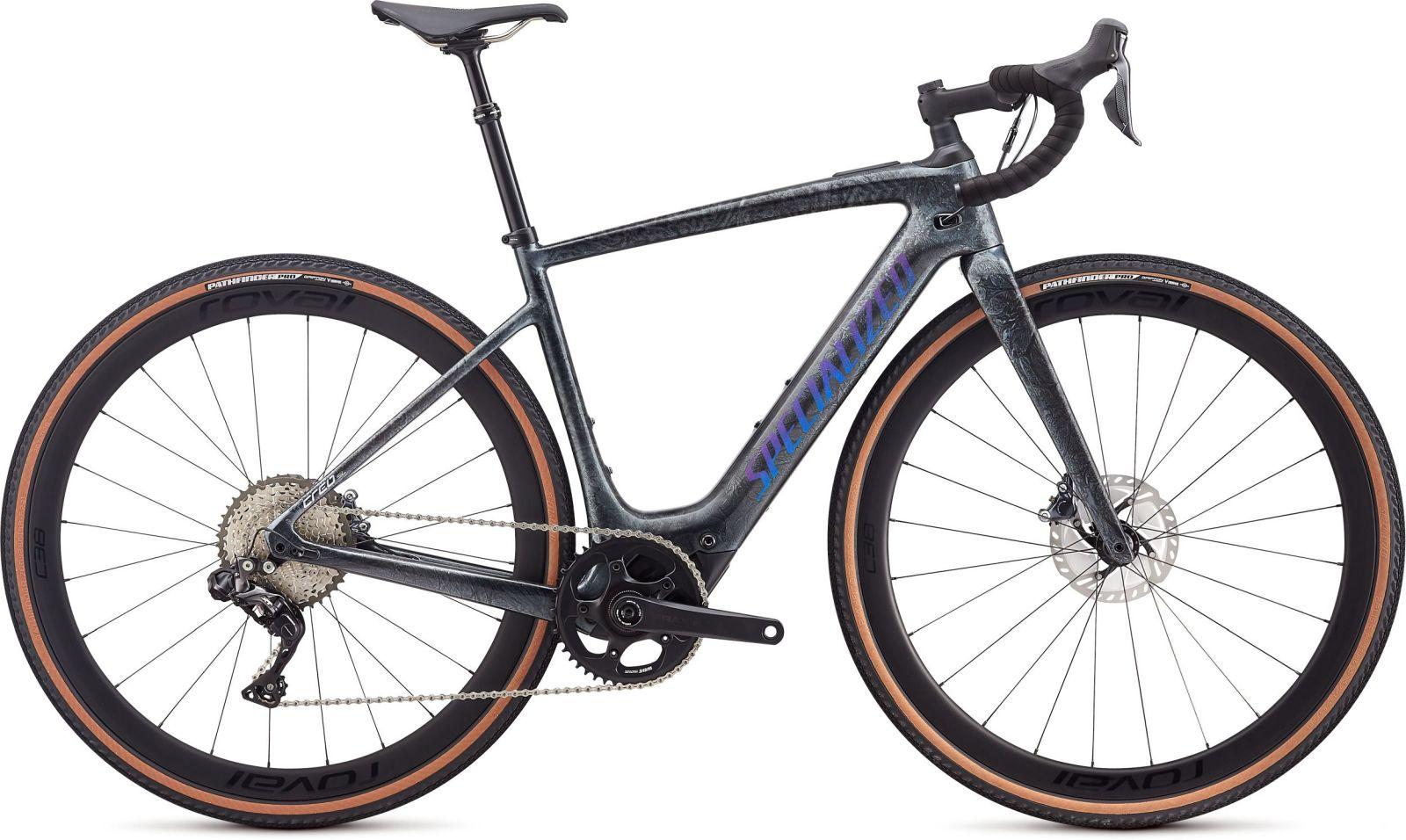 Specialized Turbo Creo SL Expert EVO - black granite/green blue chameleon L