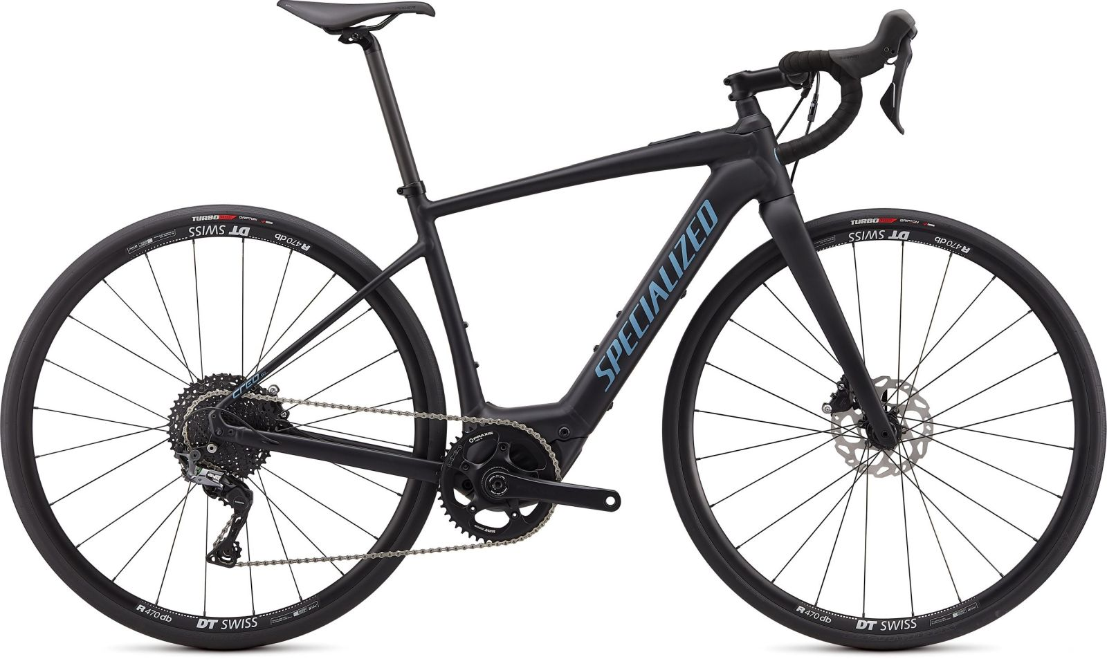 Specialized Turbo Creo SL E5 Comp - satin black/black/storm grey M