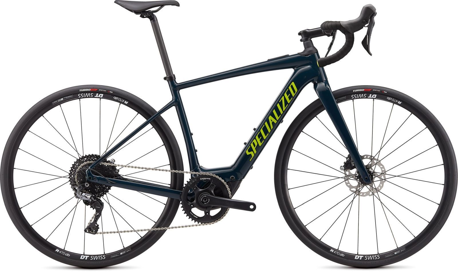 Specialized Turbo Creo SL E5 Comp - gloss cast blue/black/hyper XXL