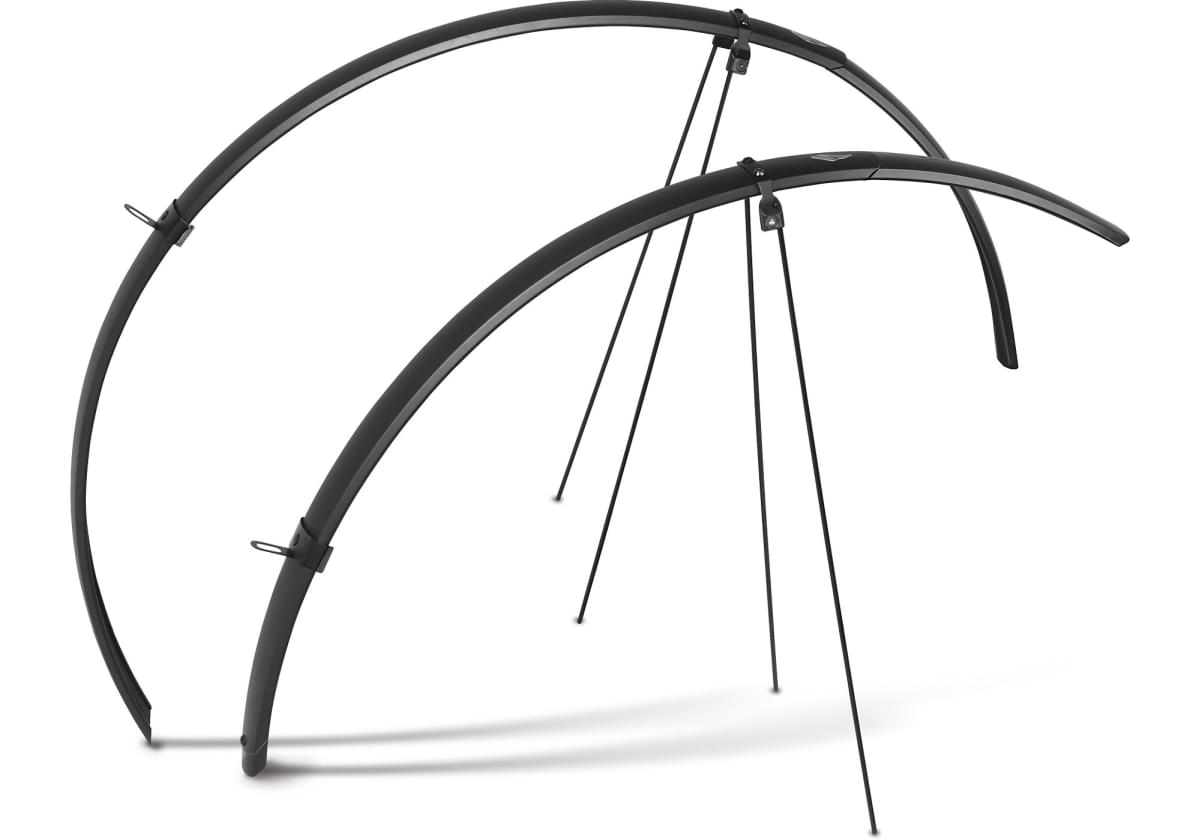Specialized Drytech Fender Set - black šířka 52mm