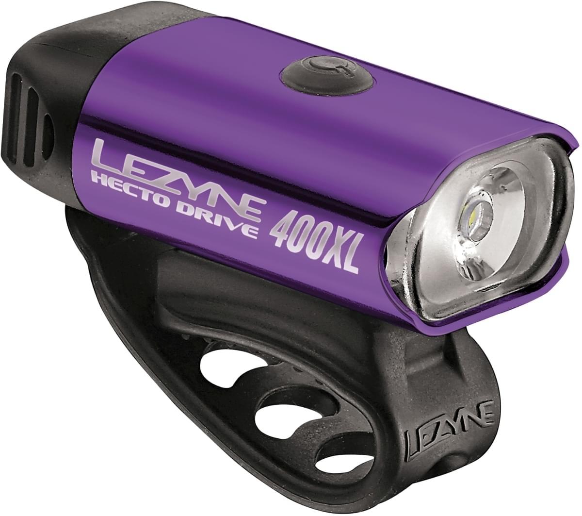 Lezyne Hecto Drive 400xl Purple/Hi Gloss uni