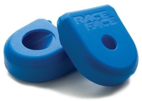 Race Face Crank Boot 2-pack Small - modrá uni