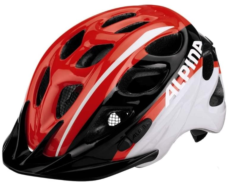 Alpina Rocky - neon red-black-white 47-52