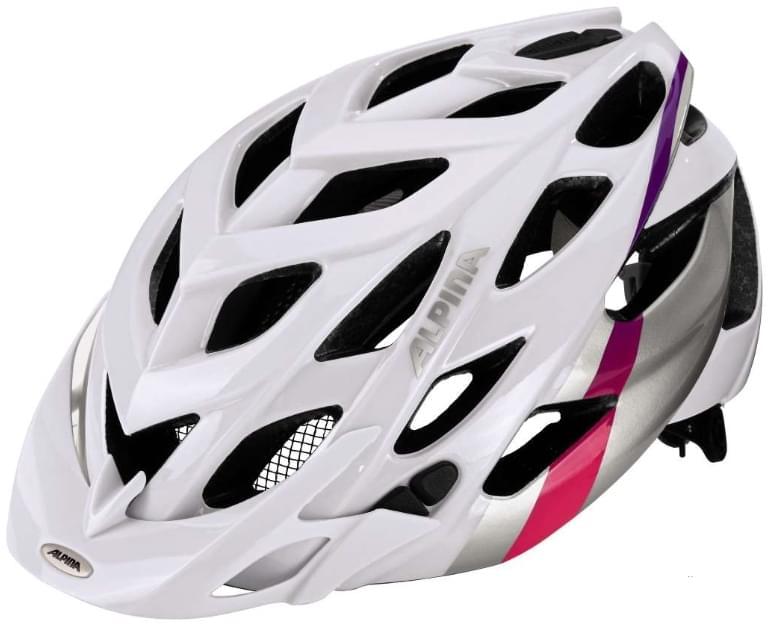 Alpina D-alto - white-silver-pink 52-57