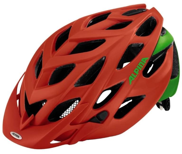 Alpina D-alto le - neon red-green 52-57