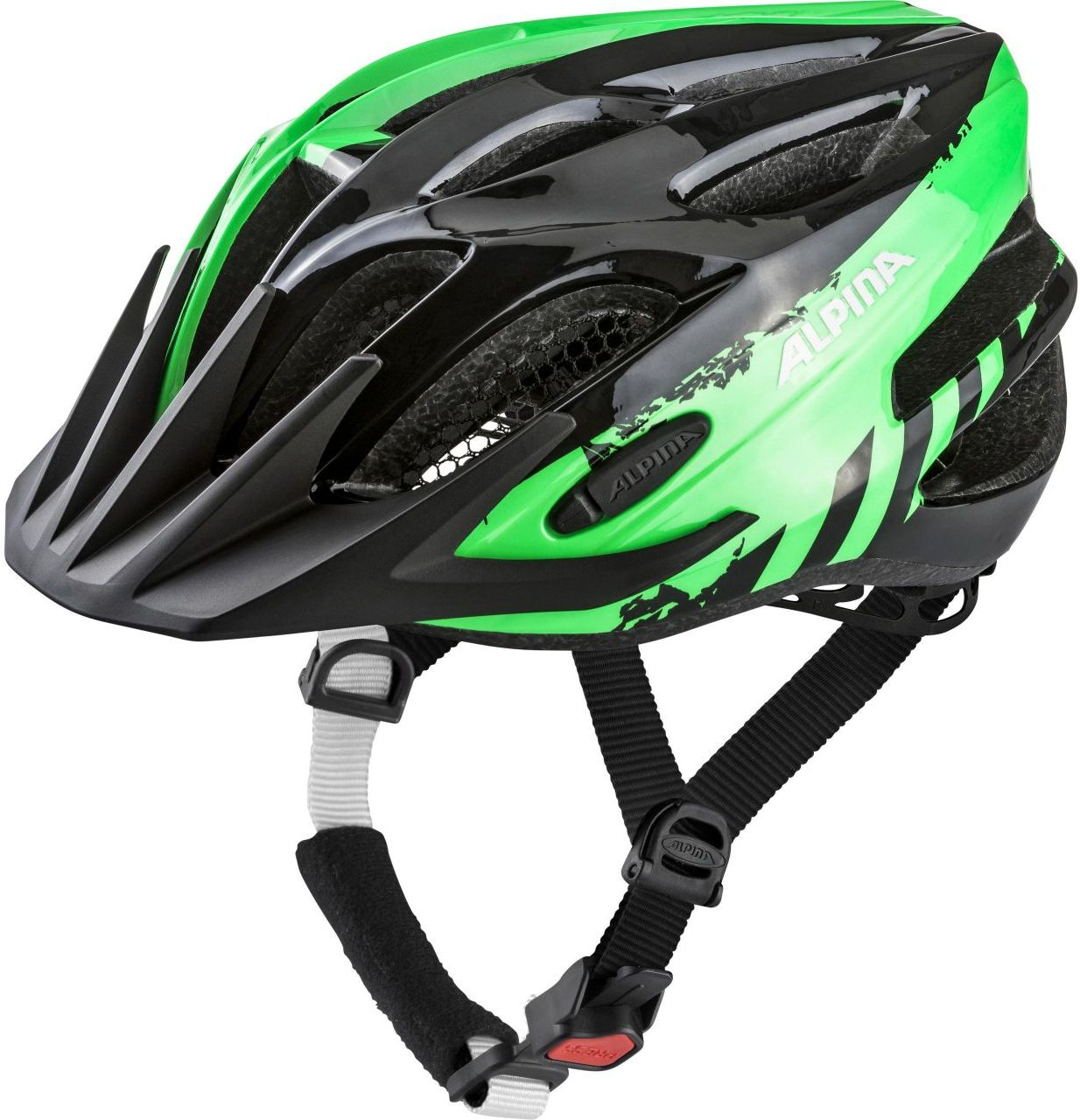 Alpina FB Jr. 2.0 - black/green 50-55