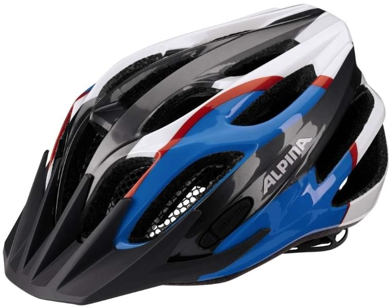 Alpina Fb jr. 2.0 flash - anthracite-blue-red-white 50-55